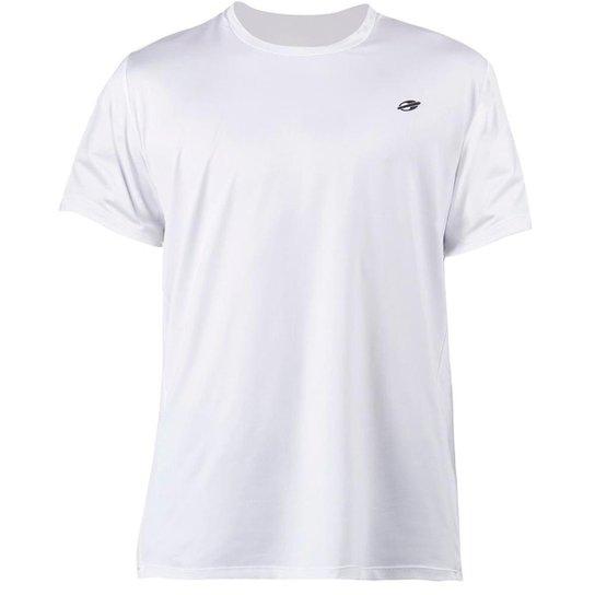 Camiseta Mormaii Dry Action Uv Manga Curta Infantil - Branco