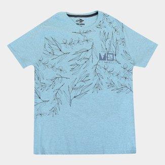 Camiseta Mormaii Folhagens Plus Size Masculina
