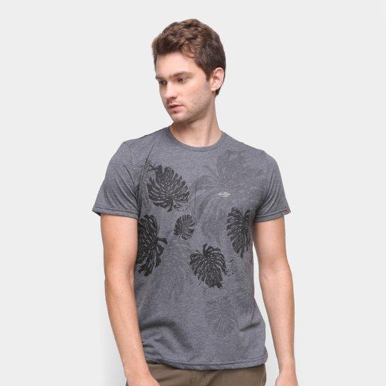 Camiseta Mormaii Leaf Masculina - Preto