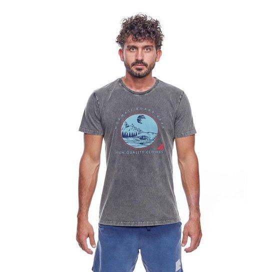Camiseta Mormaii     Line Up   Masculina - Preto