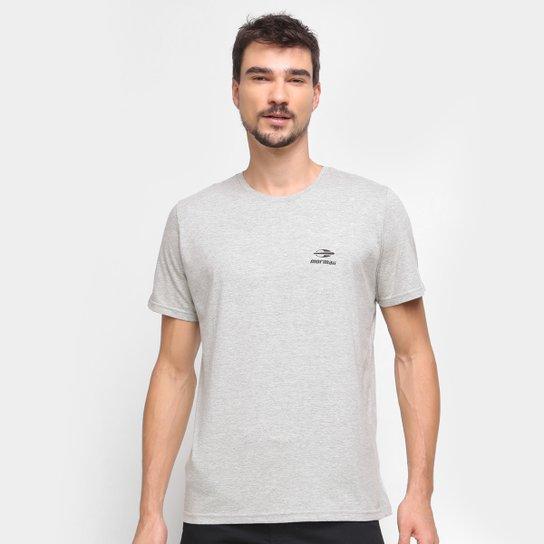 Camiseta Mormaii Logo Masculina - Cinza+Bege