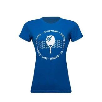 Camiseta Mormaii manga curta feminina beach tennis sun