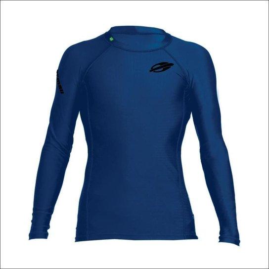Camiseta Mormaii  Manga Longa   Next 3A Surf   Masculina - Azul