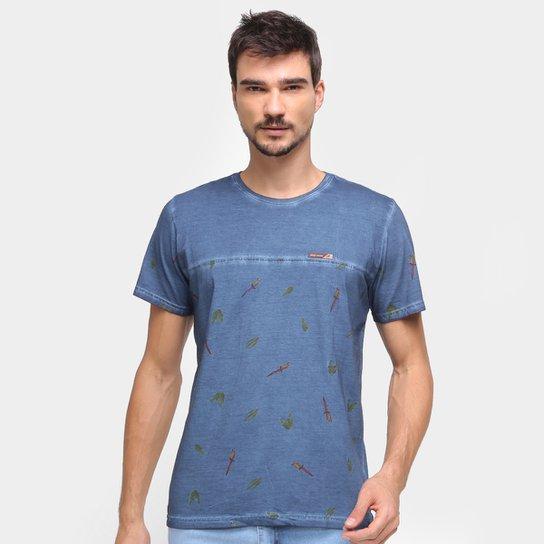 Camiseta Mormaii Nature Masculina - Azul