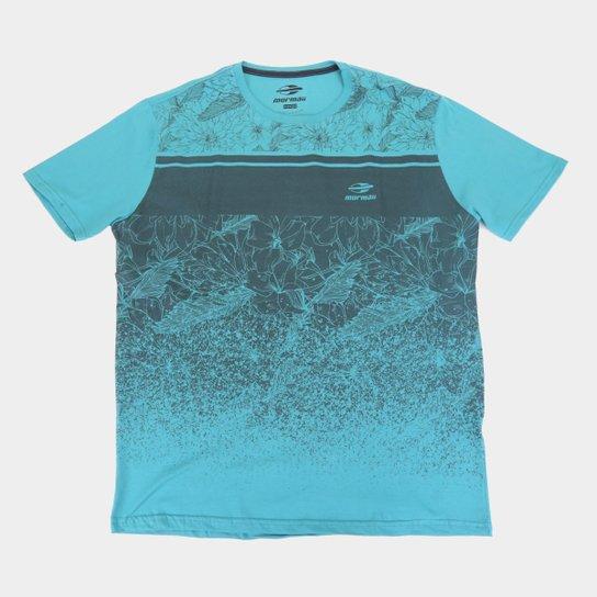 Camiseta Mormaii Nature Plus Size Masculina - Cinza