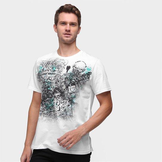 Camiseta Mormaii New Style Masculina - Branco