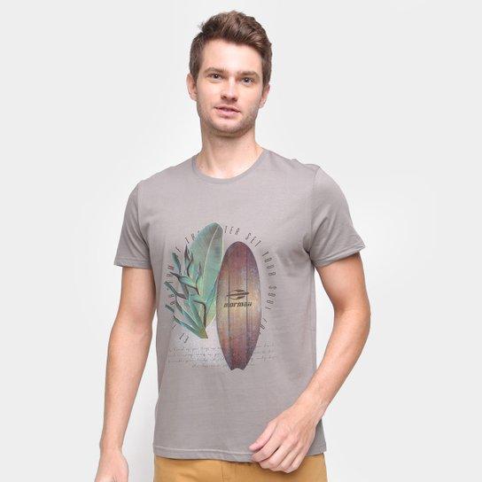 Camiseta Mormaii Soul Masculina - Chumbo
