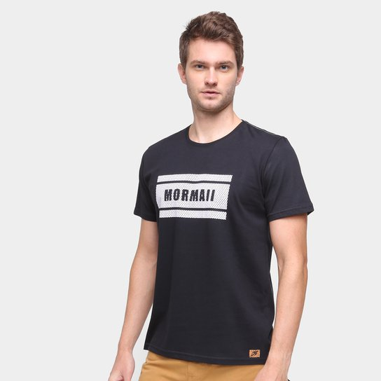 Camiseta Mormaii Texture Masculina - Preto