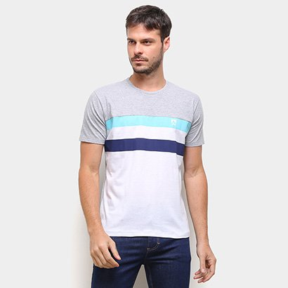 Camiseta Mr Kitsch Color Block Masculina