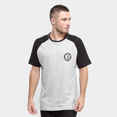Camiseta NBA Brooklyn Nets Mini Logo Masculina