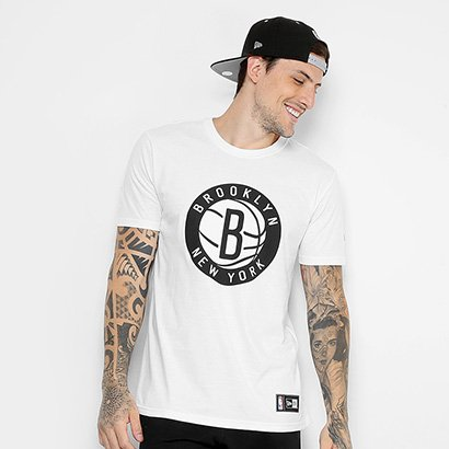 Camiseta NBA Brooklyn Nets New Era Masculina