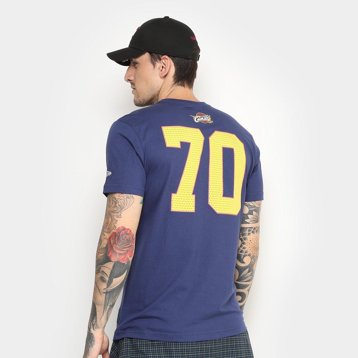 d91da5e66 ... Camiseta NBA Cleveland Cavaliers New Era Game Piece Masculina ...
