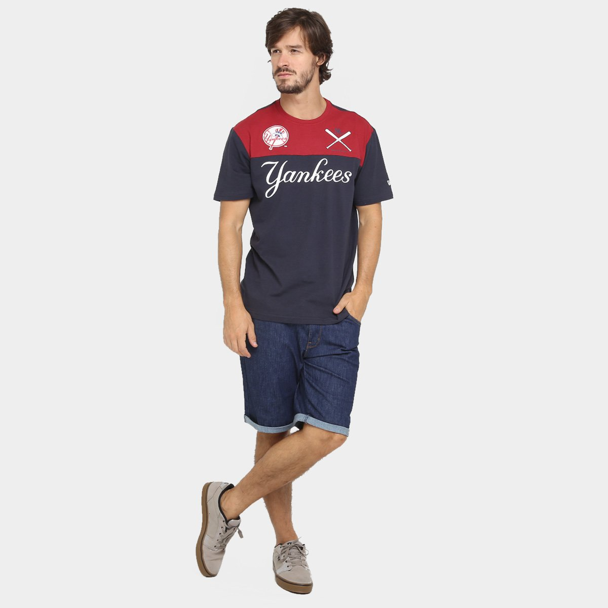 Camiseta New Era MLB Basket 14 New York Yankees - Compre Agora  eea5b8aa18b