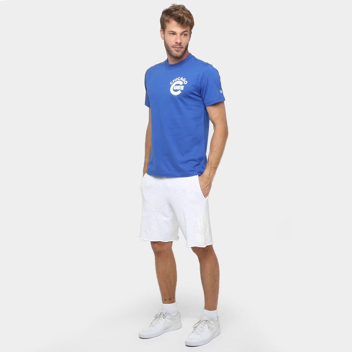 Camiseta New Era MLB Nac Flag Usa 6 Chicago Cubs - Compre Agora ... 7dd3b76bb37
