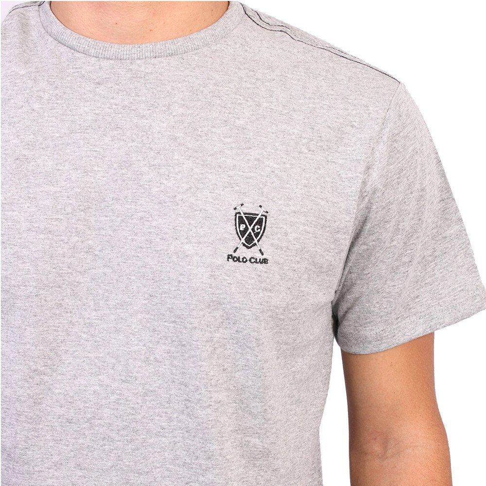 Camiseta New York Polo Club Tagless - Cinza