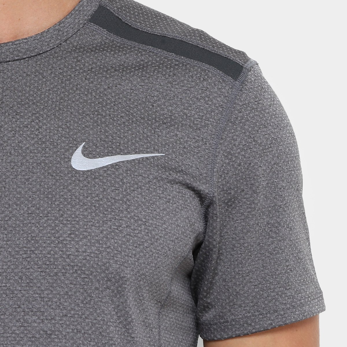 2f71a89755 Camiseta Nike Dry Cool Miler SS Masculina - Preto - Compre Agora ...
