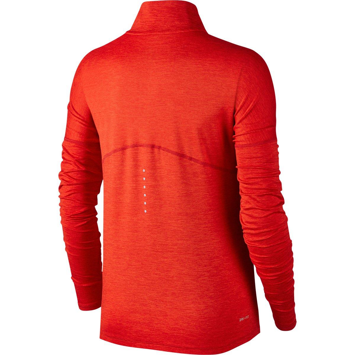 2836d8b3c9 Camiseta Nike Dry Element Half-Zip Manga Longa Feminina - Compre ...