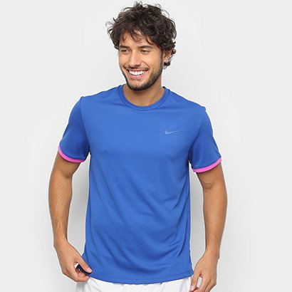 Camiseta Nike Dry Top Colorblock Masculina