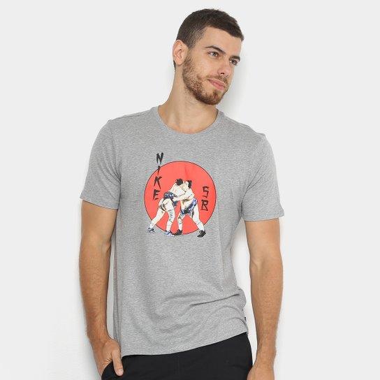 Agente Chispa  chispear Del Norte  Camiseta Nike SB Estampada Tee Wrestler Masculina | Zattini