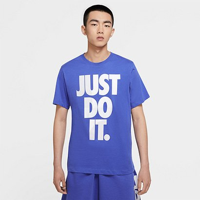 Camiseta Nike Sportswerar Just Do It Masculina