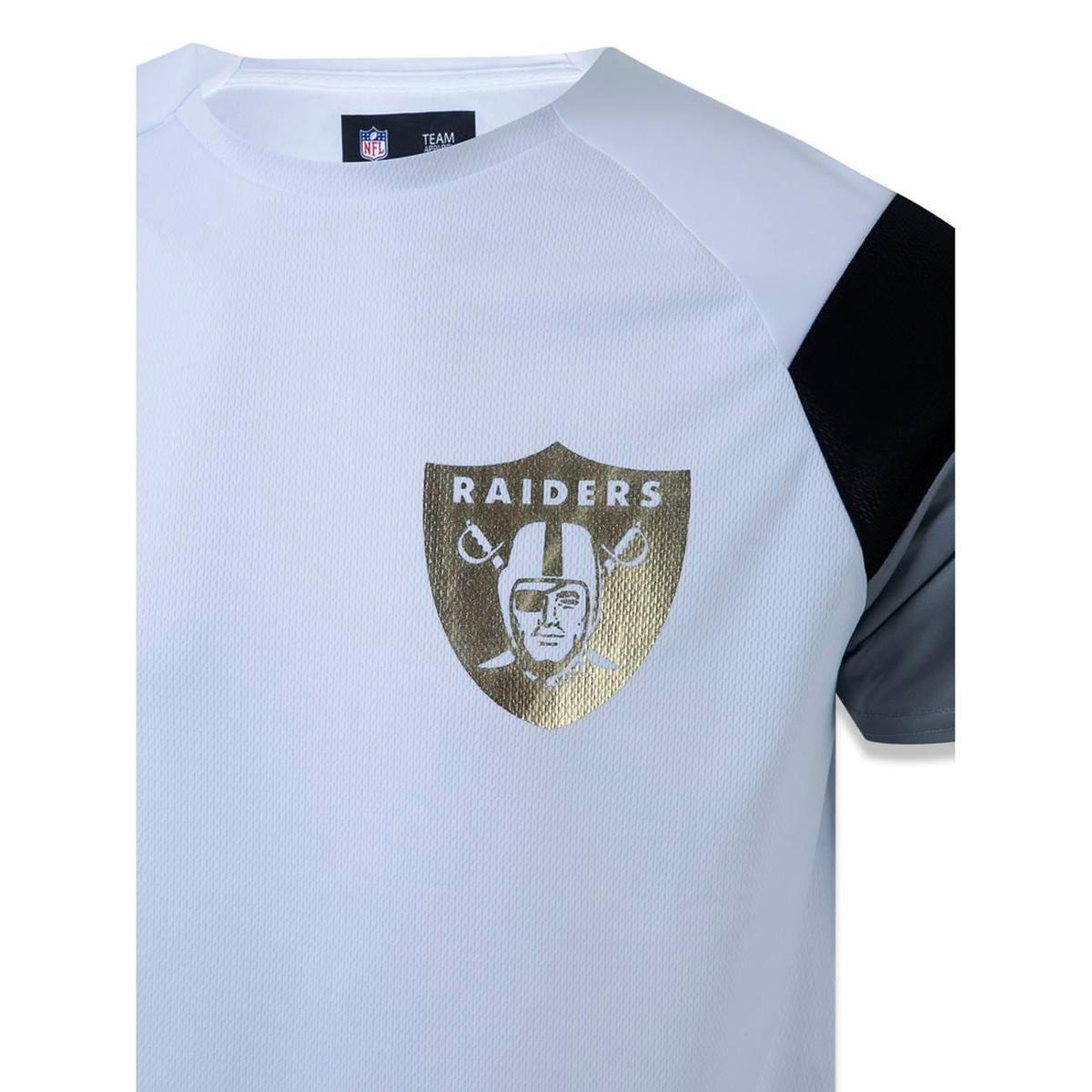 b4a82ae9d4 Camiseta Oakland Raiders NFL New Era Masculina - Compre Agora