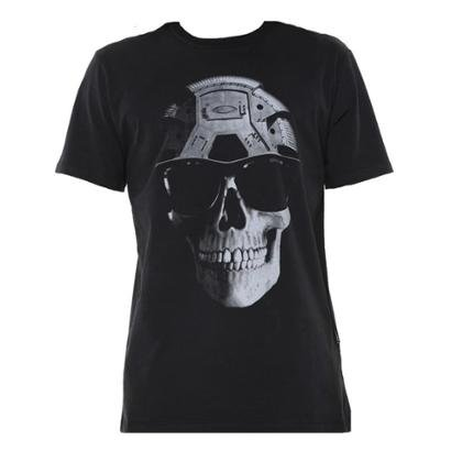 Camiseta Oakley Inc Skull Masculina