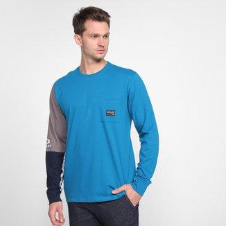 Camiseta Oakley Legacy Ls Masculina