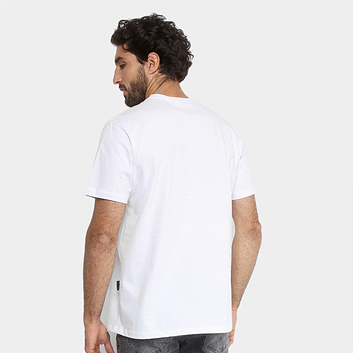 Camiseta Oakley Mod Dtp Circle Masculina - Branco - Compre Agora ... d0d3bfde1ac1d