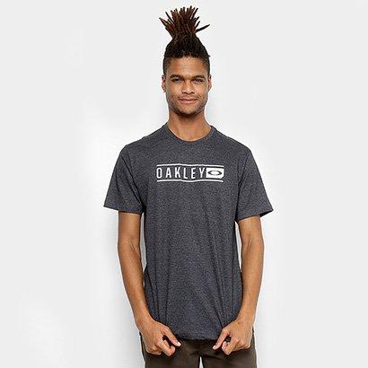 Camiseta Oakley Scout Lettering Masculina - Masculino