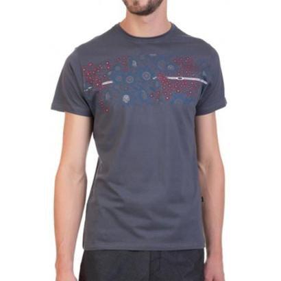 Camiseta Oakley Sun Skull Track Masculino