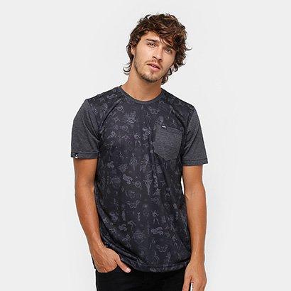 Camiseta Okdok Classic Sub C/ Bolso Masculina
