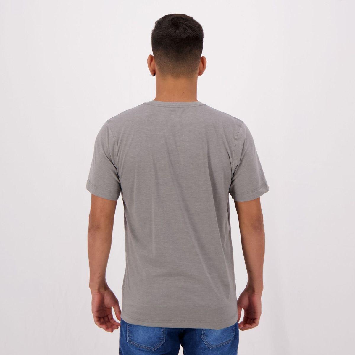 Camiseta Olympikus Basic Line Masculina - Cinza