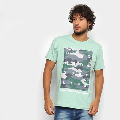 Camiseta Onbongo Camuflado Masculina