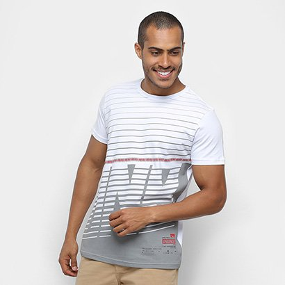 Camiseta Onbongo Faixas Masculina