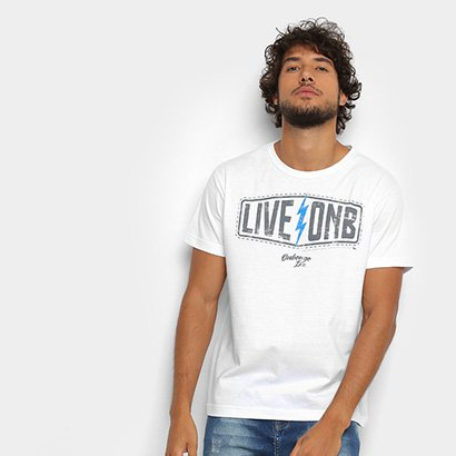 Camiseta Onbongo Live Onb Masculina