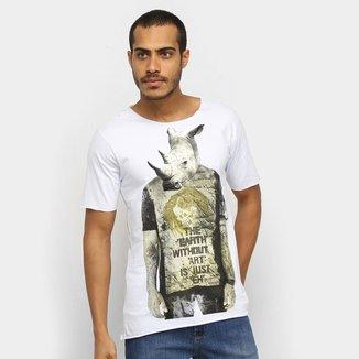 Camiseta Ont Rinoceronte Básica Masculina