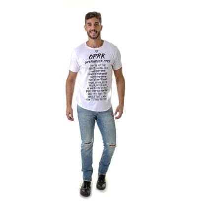 Camiseta Opera Rock Music Masculina
