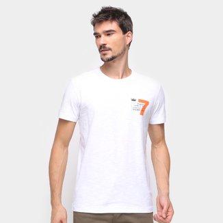 Camiseta Osklen Básica Logo Masculina
