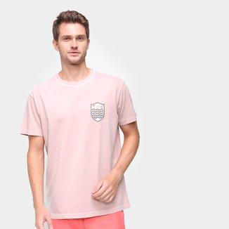 Camiseta Osklen Estampada Gola Careca Masculina