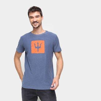 Camiseta Osklen Estampada Manga Curta Masculina