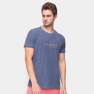 Camiseta Osklen Ipanema Manga Curta Masculina