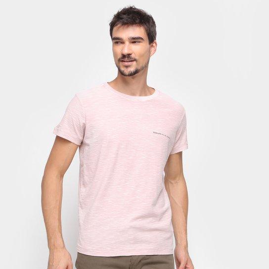 Camiseta Osklen Manga Curta Masculina - Bege