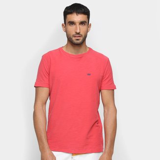 Camiseta Osklen Rough Coroa Colors Masculina