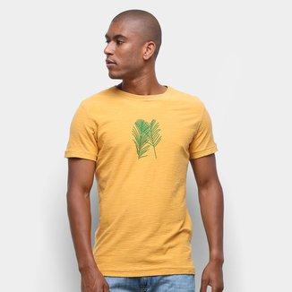 Camiseta Osklen Rough Palm Traces Masculina