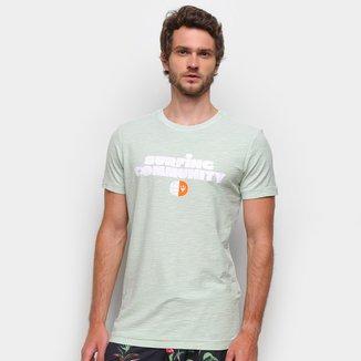 Camiseta Osklen Rough Surfing Community Masculina
