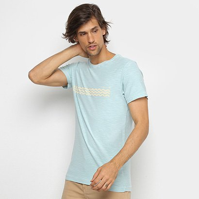 Camiseta Osklen Rough Waves Masculina