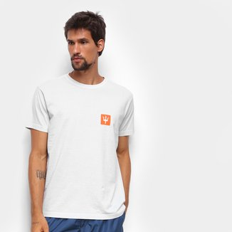 Camiseta Osklen Stone Box Tridente Masculina