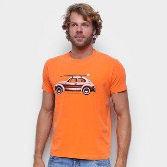 Camiseta Osklen Stone Fusca Masculina