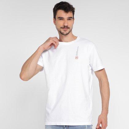 Camiseta Osklen Stone Sunday Ride Masculina