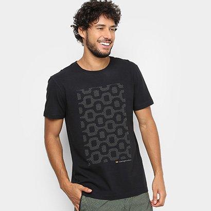 Camiseta Osklen Vintage Calçadão Masculina